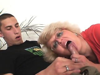 Secretly mother boy fucking in the next room blonde blowjob czech