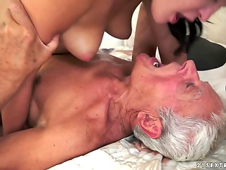 Dolly Diore in Of Picnics and Old Cocks Video facial cunnilingus brunette