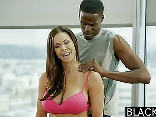BLACKED Fitness Babe Kendra Lust Loves Huge Black Cock blowjob brunette top rated