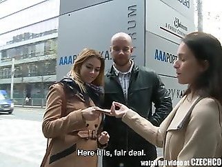 Amazing Busty Teen and Her BF Gets Money for Public SEX amateur hardcore czech