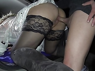 Nightly creampie gangbang at the rest area amateur creampie milf