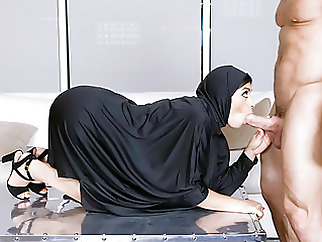 TeenPies - Hot Muslim Teen Fucked And Creampied brunette hairy top rated