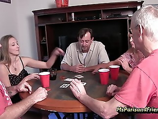 Card Game Winners Get to Pick What They Want to See blowjob fingering hardcore