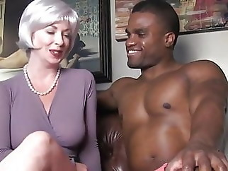 cumshot interracial