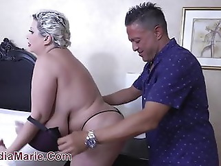Huge Tit Whore Massaged Then Fucked Hard blonde bbw pornstar