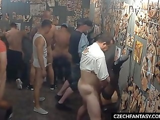 group sex facial