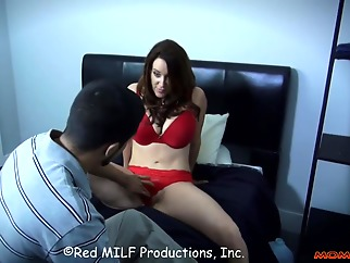 Homeschooling by mom big ass big tits brunette