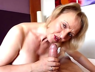With age, cums experience. granny