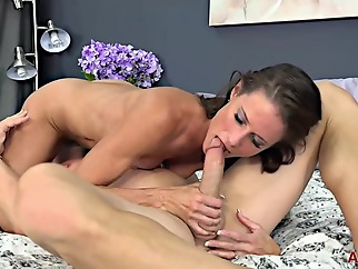 Sofie Marie is a slutty mature who likes to fuck most of her neighbors, just for fun brunette cumshot hd