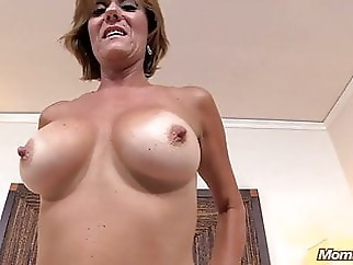 Superb hot 55 year old GILF blowjob hardcore mature