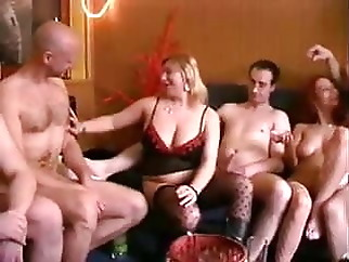 German Swinger Party Orgy - Part 1 - by Poliu group sex old & swingers