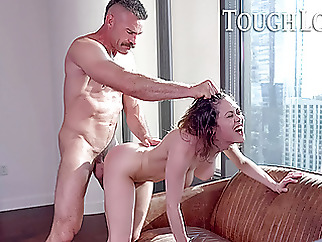TOUGHLOVEX Audrey Noir wants to be fucked like a whore blowjob brunette hardcore