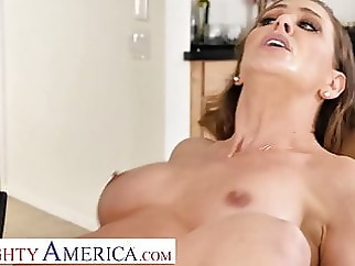 Naughty America - Cherie DeVille wants some young cock blonde blowjob hardcore