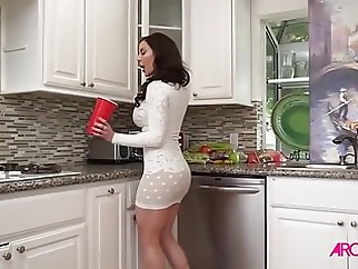 Kendra Lust Enjoys Video Games And Sex blowjob brunette cumshot