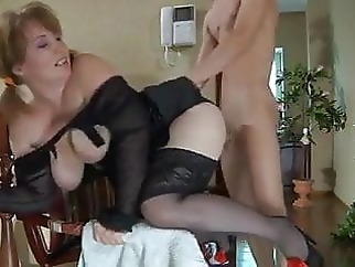 Mom and Hungry Boy mature top rated old &