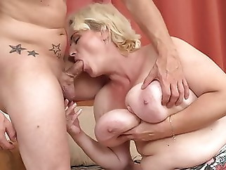 Moms with milky tits fuck young sons amateur bbw mature