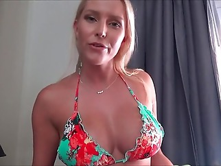 big tits blonde