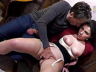 Valentina Nappi - The lady on the third floor blowjob brunette pornstar